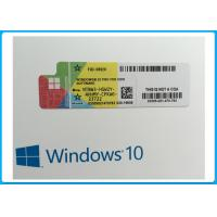 Buy cheap Windows 10 Professional COA License Sticker , Windows 10 Pro Retail Box from wholesalers