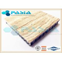Buy cheap Interior Wall Design Lightweight Cladding Panels , Travertine Composite Stone Panels from wholesalers