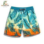 Buy cheap Waterproof 4 Way Stretch Fabric Beach Printed Board Shorts / Mens Surf Shorts from wholesalers