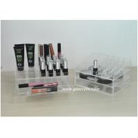 Buy cheap Acrylic Cosmetic Drawer Organizer Holding Lipsticks Detachable Two Tiers from wholesalers