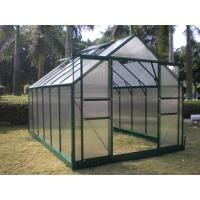 Buy cheap Sturdy Aluminum 4mm UV Twin-wall Polycarbonate Sheets Greenhouse 8' X 12' from wholesalers