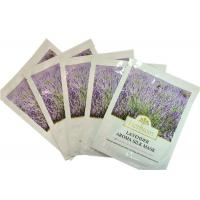 Buy cheap Powdered Skin Care Silk Facel Mask With Serum Lavender Extract from wholesalers