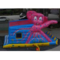 Buy cheap Octopus Pattern Inflatable Bouncy Castle Colorful Printing With Slide from wholesalers