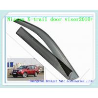 Buy cheap Door visor for  Nissan X-trail 2009 + [ injection moulding , dark transperant color ] from wholesalers