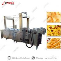 Buy cheap Continuous Banana Chips Frying Machine|Banana Chips Frying Machine|Automatic Banana Frying Machine|Frying Machine from wholesalers