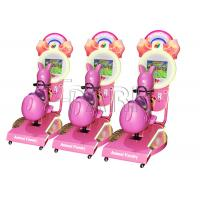 Buy cheap Amusement Park Kids Horse Racing Game Machine / Coin Operated Kiddie Rides from wholesalers