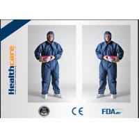 Buy cheap Flame Retardant Disposable Protective Coveralls For Asbestos Removal Anti Static from wholesalers