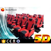 Buy cheap 24 Seats Dynamic Theater Large 5D Movie Theater With Electric Motion Platform from wholesalers