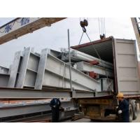 Buy cheap Galvanized C purlins Garage Steel Frame Three floors For Supper Market from wholesalers