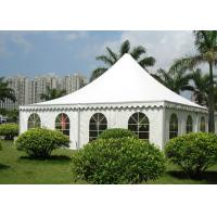 Buy cheap Waterproof PVC Fabric Pagoda Party Tent Flame Retardant  For Outdoor Exhibition from wholesalers