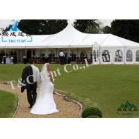 Clear Roof Backyard Party Tent, Light Frame Large Tents For Outdoor Events