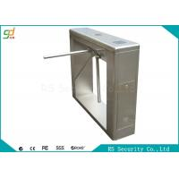 Buy cheap Smart Tripod Turnstile Waist Height Turnstiles Remote Control Gate System from wholesalers