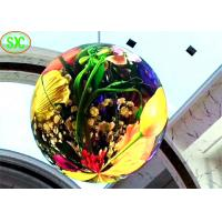 Buy cheap High Definition Indoor Full Color LED Display P4 Soft Module Led Ball Screen hanging from wholesalers