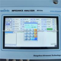 Buy cheap Touch Screen Ultrasonic Converter Impedance Analyzer Accurate Parameters Easy Operation from wholesalers