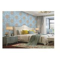 PVC vinyl wallpaper damask  design classic metallic color washable waterproof