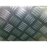 Buy cheap AA1100/3003/3105/5052 Standard Five Bar Aluminum Tread Plate Thickness 1.00mm-12.00mm from wholesalers