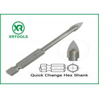 Buy cheap Quick Change Metric Masonry Drill Bits For Glass / Ceramic / Porcelain from wholesalers