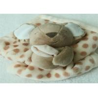 Buy cheap Customized Cute Infant Security Blanket With Koala Bear Design from wholesalers