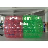 Buy cheap Red And Green 2.8m Long Inflatable Water Roller Ball Water Sport Games from wholesalers