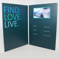 Buy cheap IPS HD Lcd Video Greeting Card , Lcd Video Book Hard / Soft Cover Style For Business from wholesalers