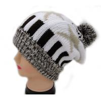 Buy cheap fashion hot selling lady's knitted hat from wholesalers