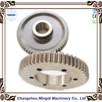 Buy cheap MINGDI Customized Hardened Spur Gear Spiral Bevel Gear / Spur Gear from wholesalers