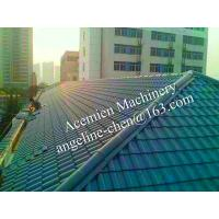 Buy cheap plastic PVC villa pitched roof glazed tile from wholesalers