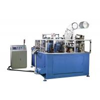 Buy cheap SCM-3000 15kw Rated Power Large Dimension PE Coated Paper Container Making Machine product