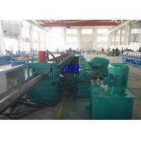Buy cheap 15Kw Guardrail Roll Forming Machine 20Mpa 2 Inch Single Row Chain Drive product
