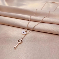 Buy cheap ODM Titanium Steel Key Gold Pendant Necklace Womens from wholesalers