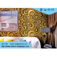 Buy cheap 0.7*8.4m Modern Strippable Non Woven Wallpaper With Bronzing Color from wholesalers