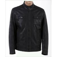 Buy cheap man winter leather jackets washing leather from wholesalers