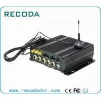 Buy cheap 4CH Full AHD 720P Recording Dual SD Card Mobile DVR with 4G / 3G GPS WIFI from wholesalers