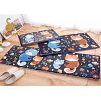 Buy cheap Different Fabric Good Wearability Cartoon Kids Bedroom Carpet Anti - Slip PVC Dots from wholesalers
