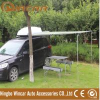 Buy cheap 2 x 2m 260G or 280G canvas awning 400D polyester sunshade from Nignbo Wincar from wholesalers