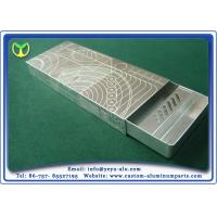 Buy cheap Cigar Box Aluminum Anodizing Service With Silver And Black Anodizing from wholesalers