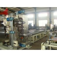 Buy cheap 450 Mm X 1350 Mm Six Roll PVC Calender Machinery For Pvc Calendering Process product