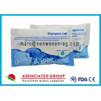 Buy cheap Comfort Shampoo Cap Rinse Free / Waterless Shampoo Caps For Hospital Patients from wholesalers