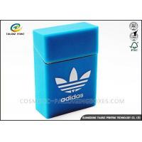 Luxury Covering Cigarette Packaging Box Embossing Printing Handling OEM / ODM