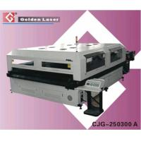 Buy cheap Textile Laser Cutter Machine (CJG-250300 A) from wholesalers