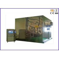 Buy cheap Stainless Steel Smoke Density Apparatus , 3 Meter Smoke Density Test For Cables from wholesalers