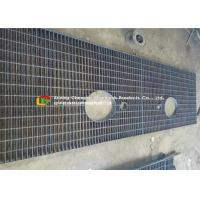 Buy cheap Custom S275 Galvanized Steel Walkway Grating For City Gardens / Railway product