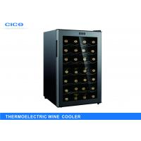 Buy cheap High Capacity Thermoelectric Wine Refrigerator , Dual Zone Wine Cooler from wholesalers
