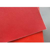 Buy cheap Non - Stick Double - Sided Silicone Coated Fiberglass Cloth High Temperature Resistance from wholesalers