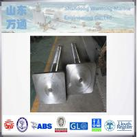 Buy cheap Marine forged steel rudder pintle rudder stock for vessels from wholesalers