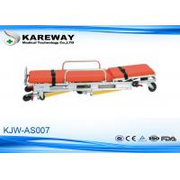 Buy cheap Backrest Adjustment Patient Trolley Stretcher , Fold Up Stretcher 3 Years Guarantee from wholesalers