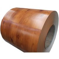 Buy cheap Wood / Stone Grain Pattern Galvanised Steel Coils Anti - Rust For Building from wholesalers