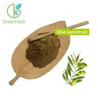 Buy cheap Pure Natural Herb Oleuropein Olive Leaf Extract Hydroxytyrosol Brown Fine Powder from wholesalers