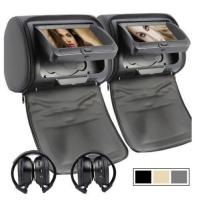 Buy cheap Unique mould 9 inch car portable headrest dvd player from wholesalers