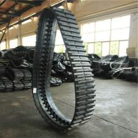 Buy cheap Puyi OEM Dumper Rubber Tracks 320*90*56 for Yanmar C30r /Engineering rubber caterpillar from wholesalers